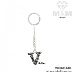 Marvelous Silver Key Chain
