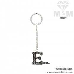 Marvelously Silver Key Chain