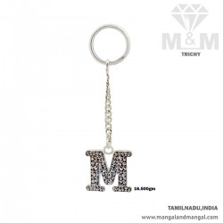 Marvels One Silver Key Chain