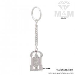 Miraculous Silver Key Chain