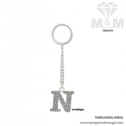 Personable Silver Key Chain