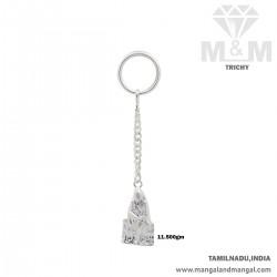 Sensational Silver Key Chain