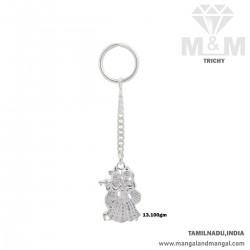 Superduper Silver Key Chain