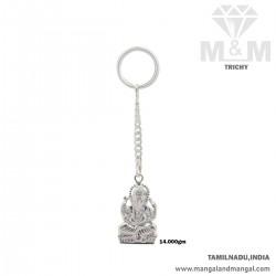 Wonderful Silver Key Chain