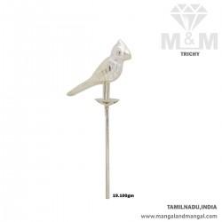 Seductive Silver Parrot