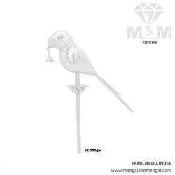 Stunning Silver Parrot