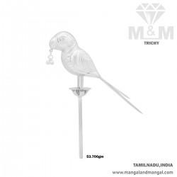Wonderful Silver Parrot