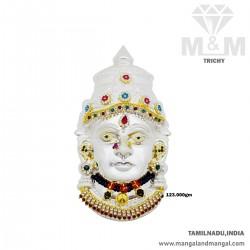 Delectable Silver Amman Mugam