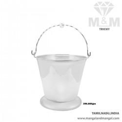 Luxurious Silver Bucket (Vali)