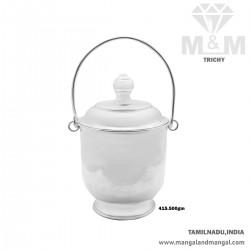 Auspicious Silver Bucket...
