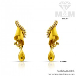 Adorable Gold Women Earring