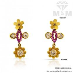 Beautiful Gold Women Earring