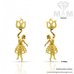 Exciting Gold Women Earring