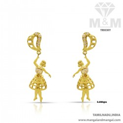 Fabulous Gold Women Earring