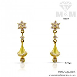 Impossibly Gold Women Earring