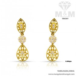 Interesting Gold Women Earring