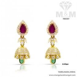 Lush Gold Women Earring