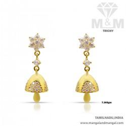 Marvels One Gold Women Earring