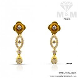 Miraculous Gold Women Earring