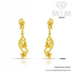 Oddly Gold Women Earring