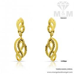 Perfect Gold Women Earring
