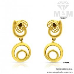 Prodigious Gold Women Earring