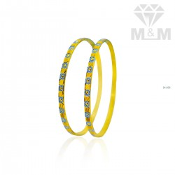 Beautify Gold Rhodium Bangle