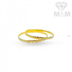 Miraculous Gold Rhodium Bangle