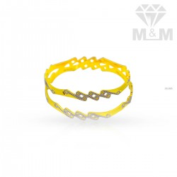Quite Gold Rhodium Bangle