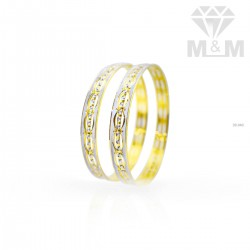 Preeminent Gold Rhodium Bangle
