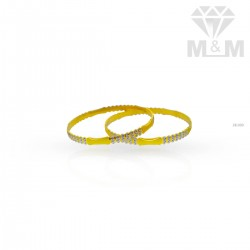 Better Looking Gold Rhodium Bangle