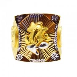 Graceful Lord Ganesha Gold...