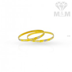 Colorful Gold Rhodium Bangle