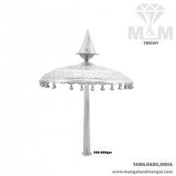 Prosperous Silver Umbrella