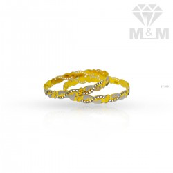 Excellent Gold Rhodium Bangle