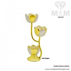 Charming Silver Flower Vase