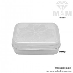 Dainty Silver Fancy Box