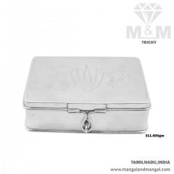 Dreamy Silver Fancy Box