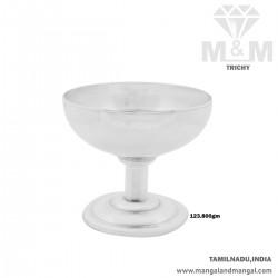 Fantastic Silver Ice Cream Cup