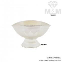 Fascinate Silver Vibuthi Madal