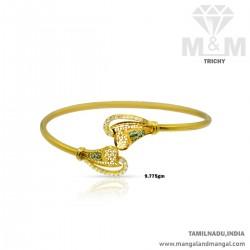 Adorable Gold Women Casting Bracelet