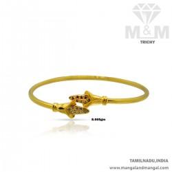 Aesthetic Gold Women Casting Bracelet