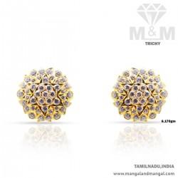 Artful Gold Women Stone Fancy Earring