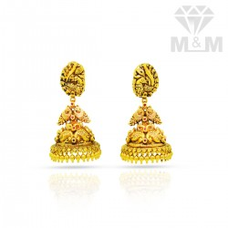 Miraculous Gold Antique Stud