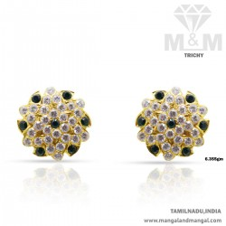 Memorable Gold Women Stone Fancy Earring