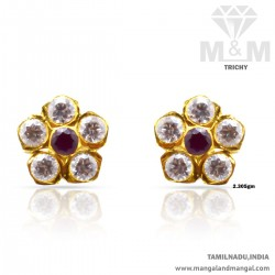 Bright Gold Women Stone...