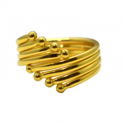 Unparalleled Gold Fancy Ring