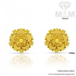 Colorful Gold Women Fancy Earring