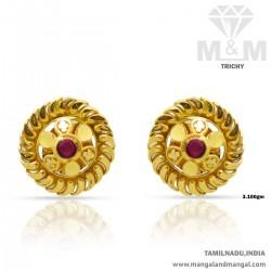 Cute Gold Women Fancy Earring