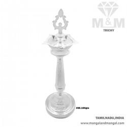 Alluring Silver Fancy Kuthu...